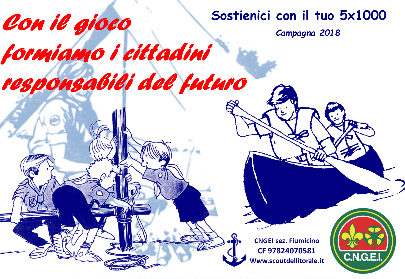 campagna 5X1000 2018 fronte