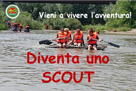 diventa uno scout