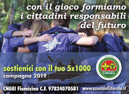 campagna 5X1000 2019 fronte